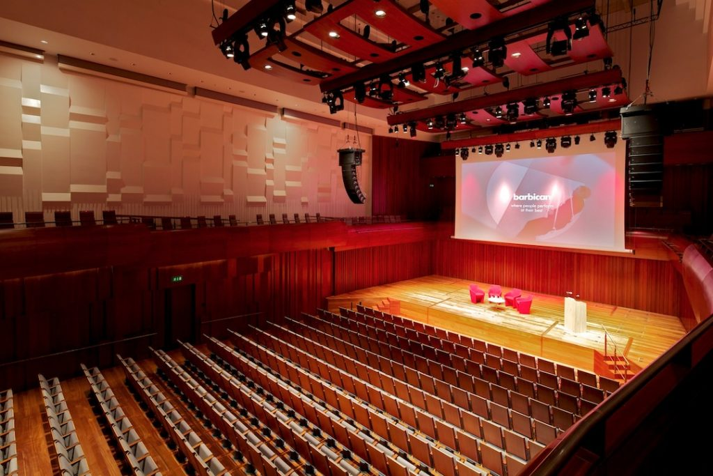 Barbican Centre Venues Event Booker